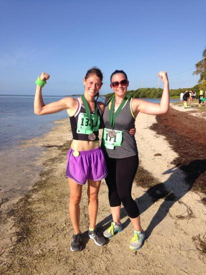 Ecstatic to have finished the 7 Mile Bridge Run, my first race since getting diagnosed with Lyme four years ago.